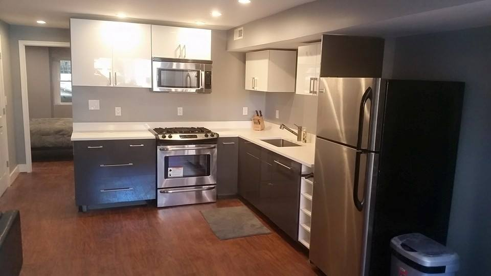 Josh basement kitchen after