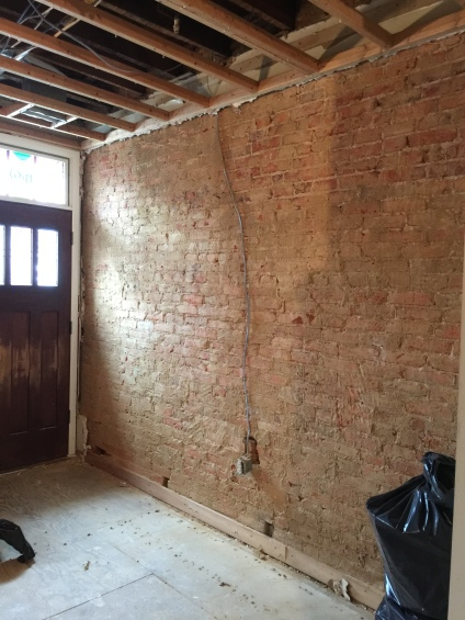 New Exposed Brick Wall
