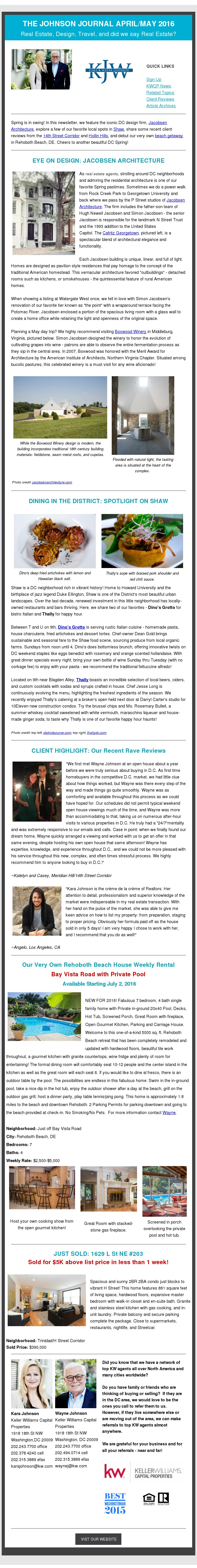 AprilMay 2016 Newsletter